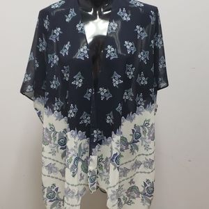 Maurices blue duster